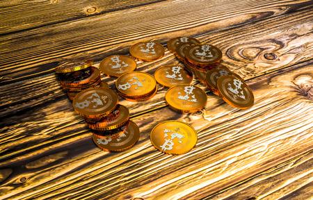 two bitcoins - bit coin BTC the new virtual money