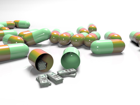 the concept of paid and expensive medicine