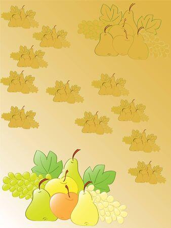 stillife: autumn fruits stillife