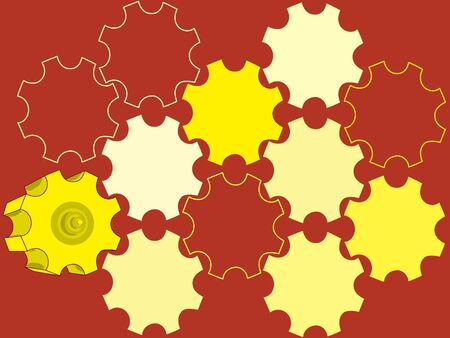 gearings: vector parts gear  backgrounds abstract