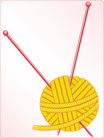 vector clew thread knitting tangle Stock Photo - 3773427