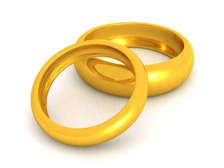 pierścienie. 3D