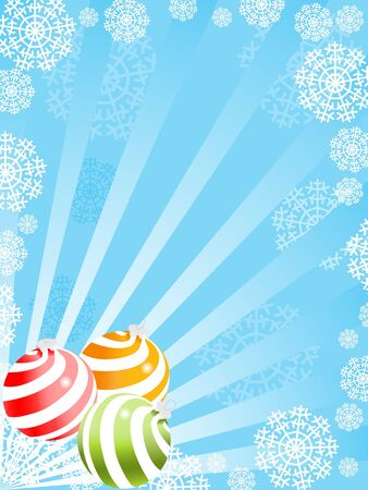 christmas sphere backgrounds. vector Stock Photo - 3809173
