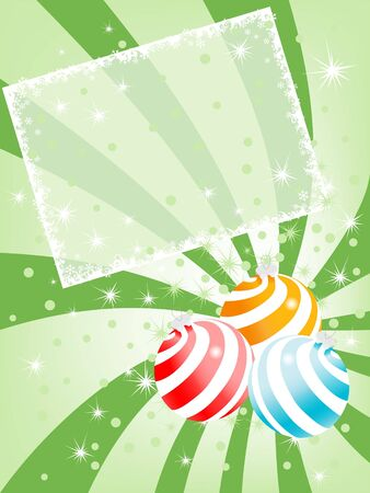 christmas sphere backgrounds. vector Stock Photo - 3839341