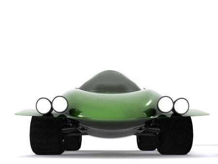 autosport: abstract sport car. 3d
