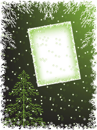 pinetree: christmas holiday backgrounds. vector