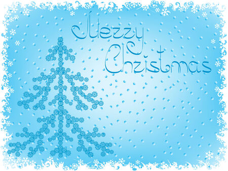 pinetree: holiday backgrounds. christmas card. Vector