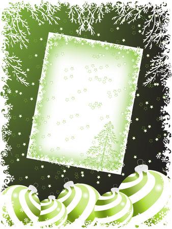 pinetree: vacaciones de Navidad antecedentes. vector