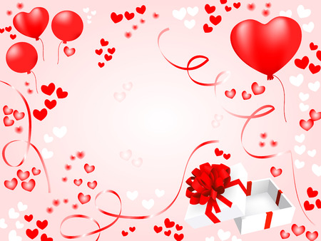 valentnes card. holiday vector background Vector