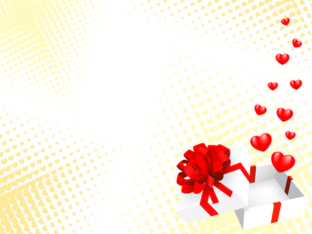 heart background. vector holiday valentine Vector