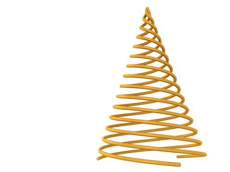 christmas tree. 3d Stock Photo - 5251352