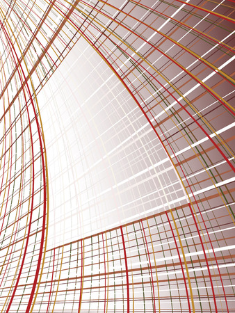 abstract line background. vector Vector