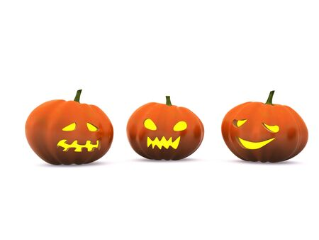 halloween pumpkin. 3d Stock Photo - 5613410