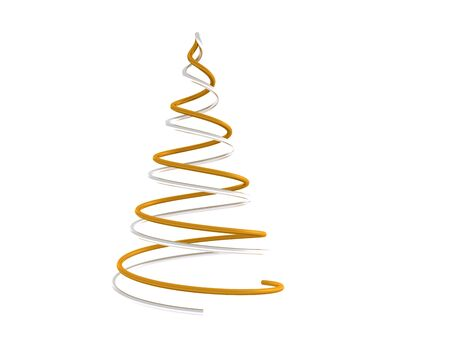 christmas tree. 3d Stock Photo - 5717808