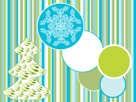 christmas tree backgrounds. holiday vector Stock Vector - 5860772