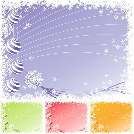 vector holiday backgrounds. christmas Stock Vector - 5957367