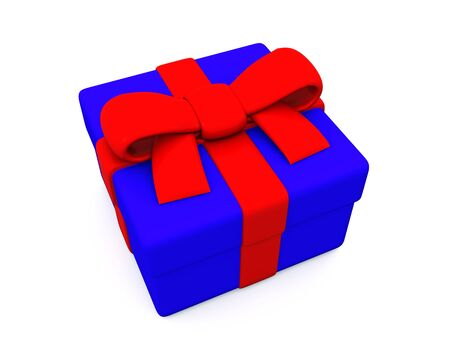 gift box. 3D Stock Photo - 5996914