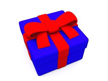gift box. 3D Stock Photo - 5996914