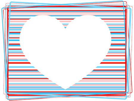 corazones: heart background. holiday valentine Illustration