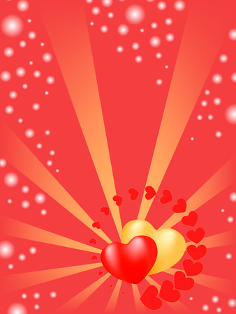 heart background.  holiday valentine Vector