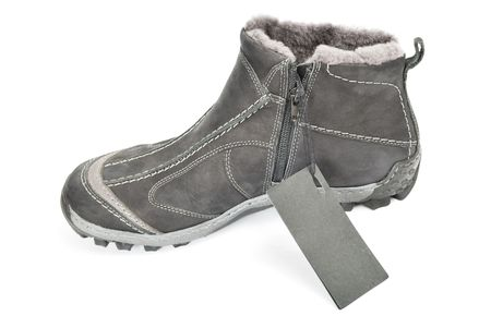 new winter boot for men Stock Photo - 6260778
