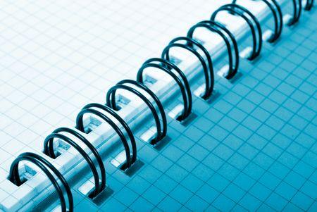 segmented spiral notepad Stock Photo - 6347597