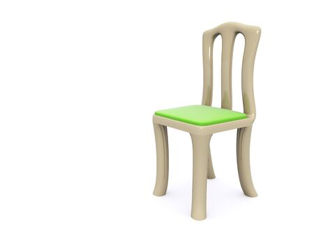 single chair. 3d Stock Photo - 6469979