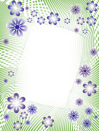 abstract spring floral background. Stock Vector - 6588962