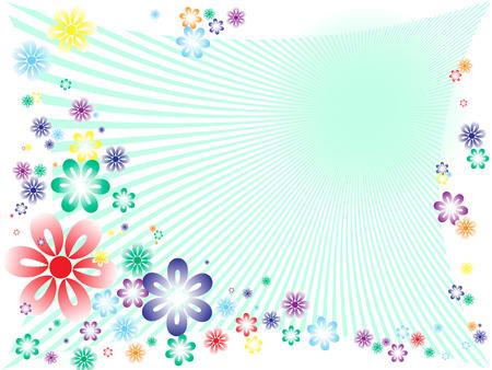 abstrakcyjne wiosną floral tła.