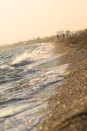 sea sunset light. Crimea, Ukraine Stock Photo - 9146626