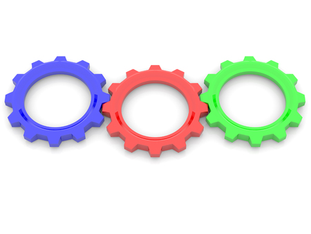 rgb: RGB, red, green, blue, primary color concept. 3d