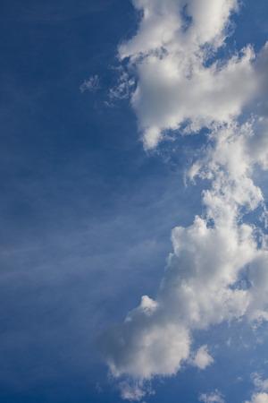 cumuli: beautiful, heavenly background. clouds against the blue sky