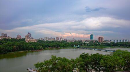 Beautiful view. Donetsk, Shcherbakova Park