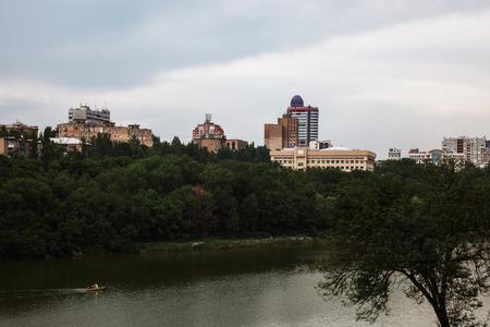 donetsk: Beautiful view. Donetsk, Shcherbakova Park