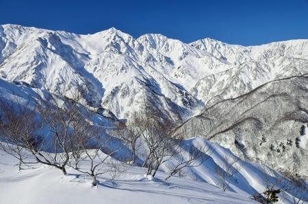 Hakuba snow resort Banco de Imagens