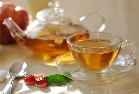 green tea set Stock Photo - 8645179