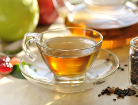 green tea set Stock Photo - 8645197