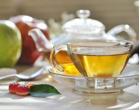 green tea set Stock Photo - 8645153