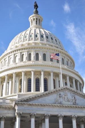 Capital Building in Washington DC ,close up