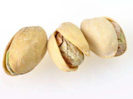Dried pistachios Imagens