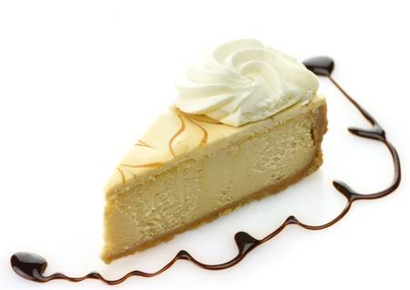 slice of cheesecake Reklamní fotografie - 8649027