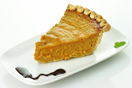 slice of pumpkin pie Stock Photo - 8649172