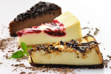 slices of cheesecakes  Stock fotó