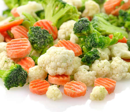 Frozen vegetables  免版税图像