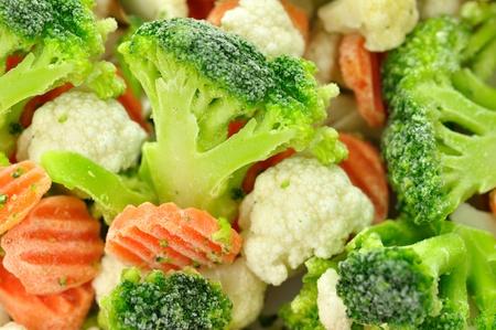 nutriments: Frozen vegetables  Stock Photo