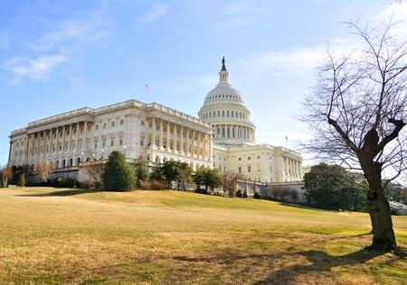 dc: Capitol Hill Building, Washington DC.