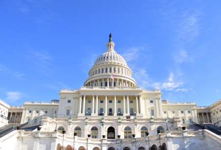 Capitol Hill Building ,Washington DC.  photo