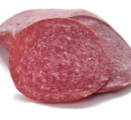 Sliced Salami  photo