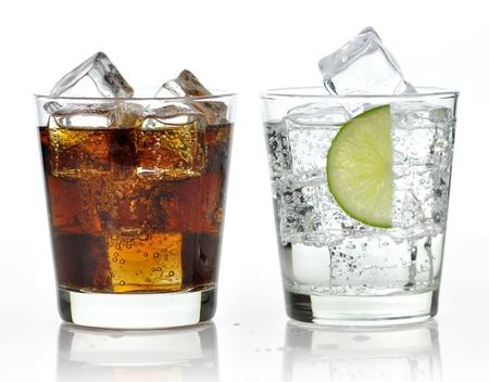 cubos de hielo: El dulce enfriado bebidas con hielo