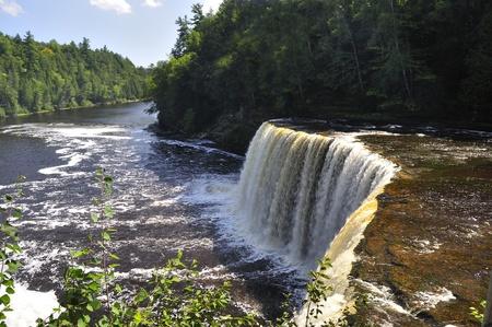 Upper Tahquamenon Falls in Michigan photo